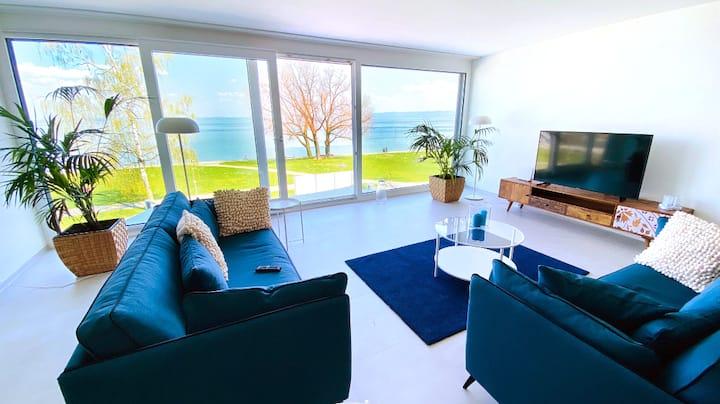 Exklusive Ferienwohnung direkt am Bodensee
