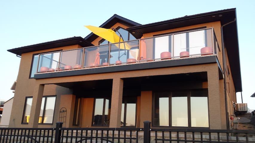 Executive Open Concept Home on Edge of City