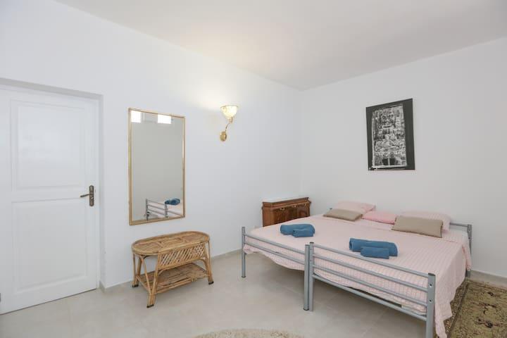Simple Room in a Bohemian Villa.