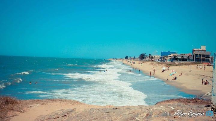 Casa Ampla em Frente a Praia
