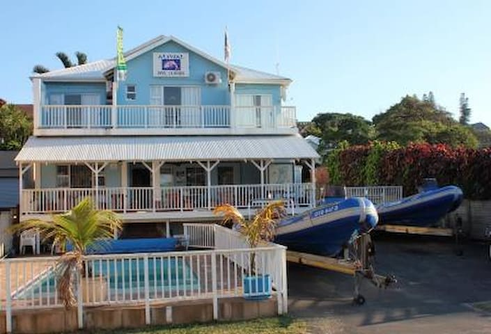 Sea Facing Accommodation Double/Twin Beds