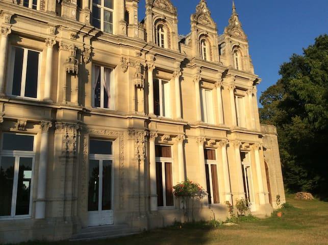 Chateau gîte à 5 minutes de Giverny - Pressagny l'orgueilleux - Slot