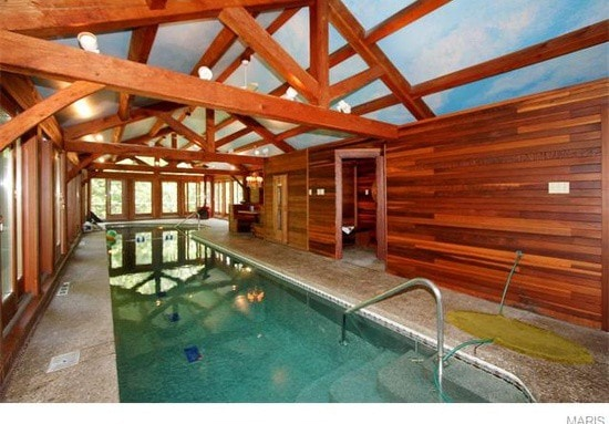 Private Indoor Pool Adjacent To Master Bedroom. Pool Is Sanitized With  Copper And Silver Ions ...