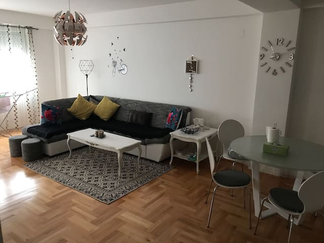 New 2rooms apartment in Saraj(30min from aeroport)