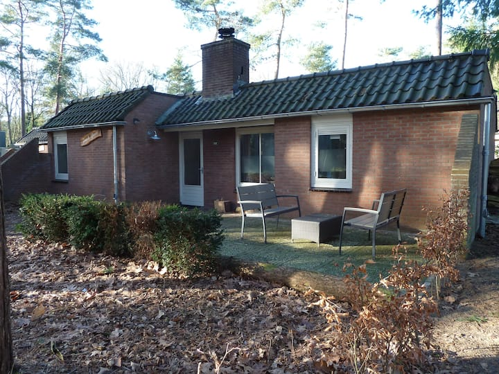 Semidetached bungalow in forestpark