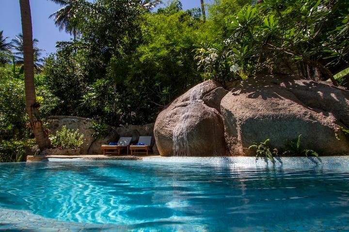 """The """"Bougainvillea"""" villa"""