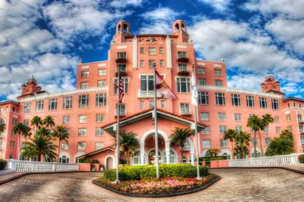 World Famous Don Cesar Hotel and Resort(10 minutes away 6.8miles)