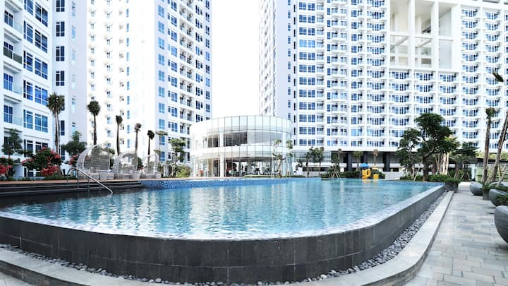 Cozy Studio Apartment For 2 Pax @ West Jakarta