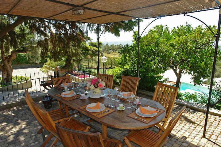 Holiday villa with private pool Tuscan coast