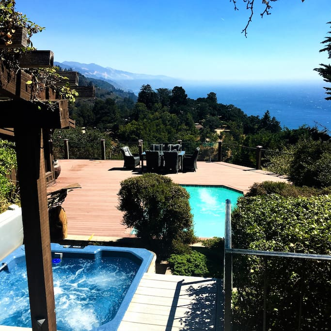California Small Houses With Pools: Beautiful Big Sur With Pool/spa, Close In Location