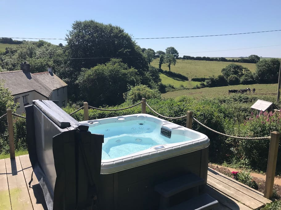 New for Summer 2018 - a Hot Tub.