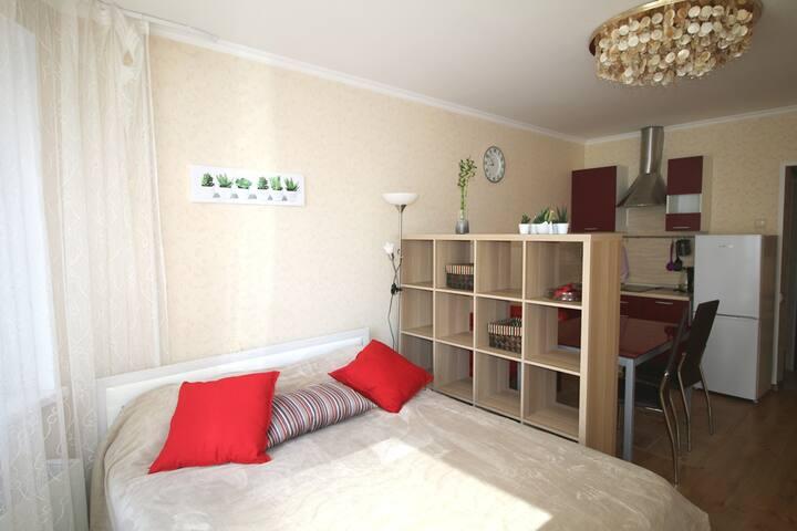 Comfort appartment 26 sq.m. Myakinino/Crocus Expo