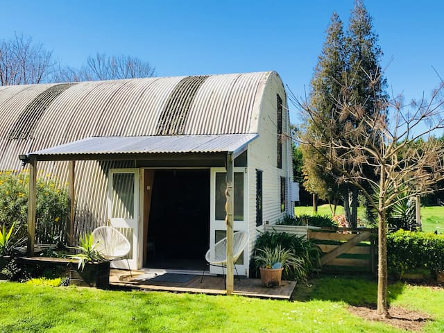 'The Shed' in peaceful Pirongia.