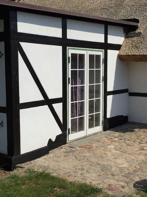 Lille terrasse/small terrasse