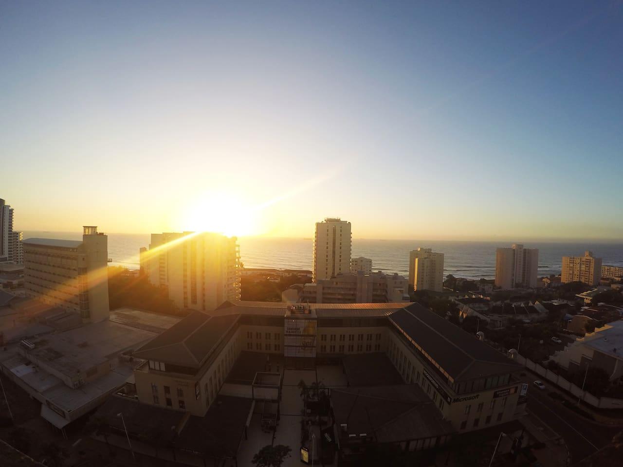 Beautiful sunrises all year round
