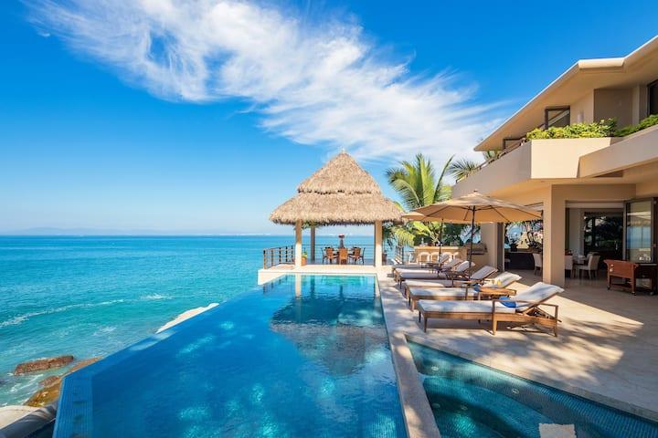 Villa Kismet  - Contempo Oceanfront Luxury for 14