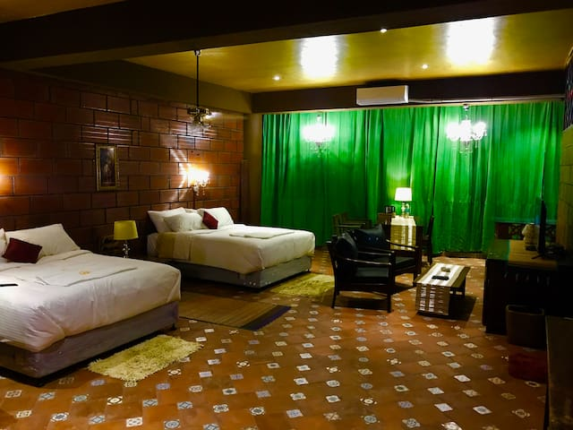 Boutique Suite Room 5 with AC (off MG Road)