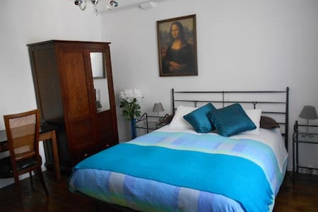 Double room in B&B Maison Bergoun - Borce