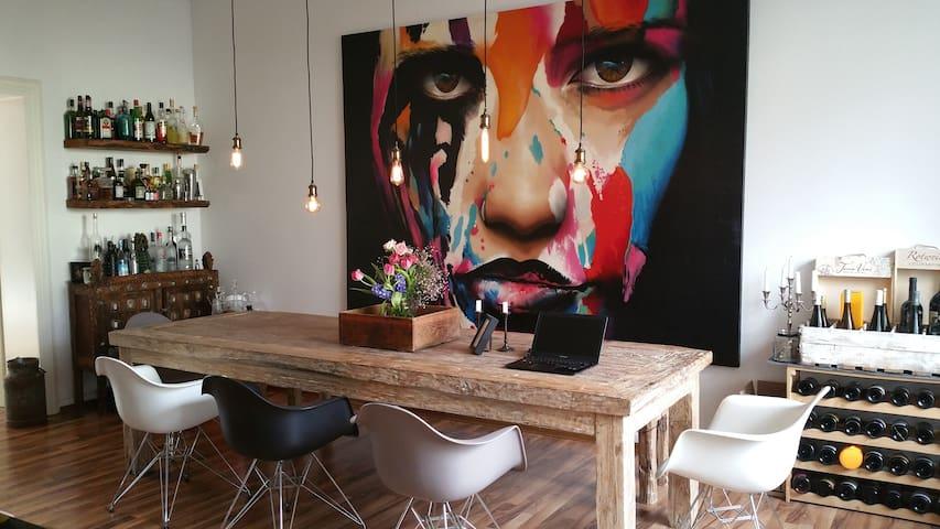 120 sqm Luxury Apartment Downtown - Frankfurt am Main - Apartment