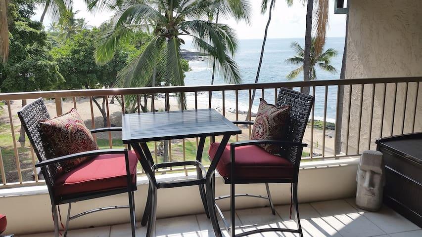Kona Reef Beachfront Top Floor Remodel