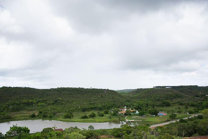 Fazenda inteira para grupos próxima de Salvador - Araças