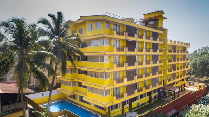 Sairaj Beach resort Calangute Goa