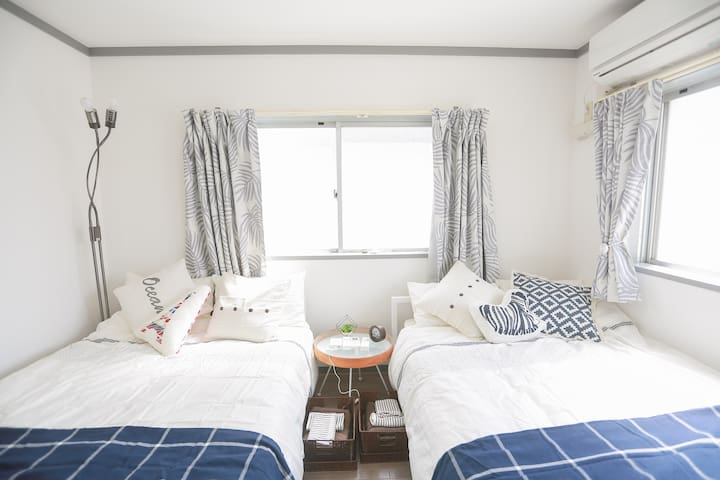 2 apartments! Central Shinjuku near JR sta 12ppl#3 - Shinjuku - Wohnung