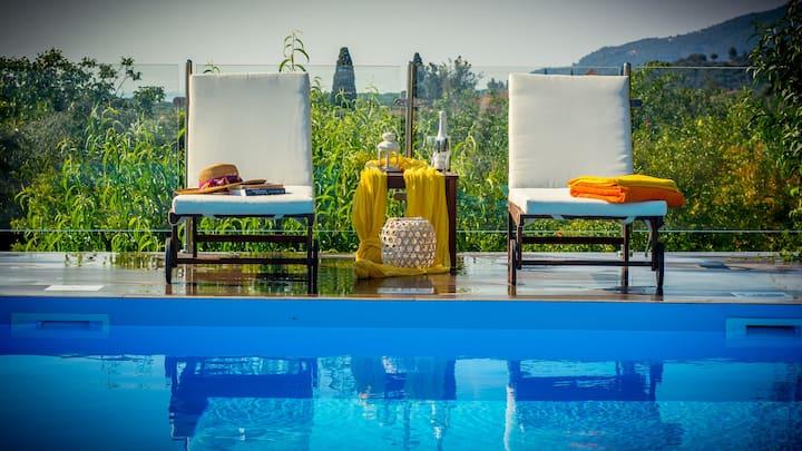 Villa Natura Zante private pool (sea view)
