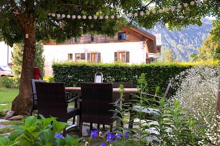 Rare: comfort apartment in village near chamonix.