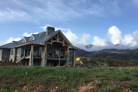 Mountain home for family reunions - Morgan - บ้าน