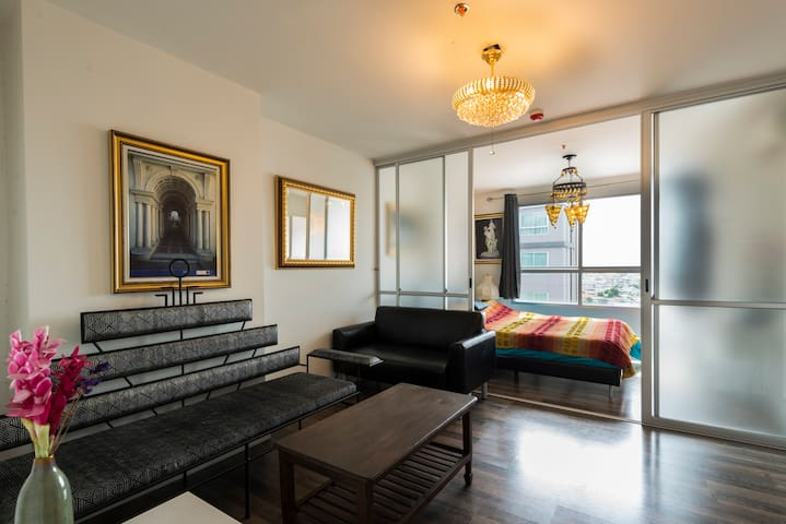 Spacious apartment near attractions - Bangkok - Appartement