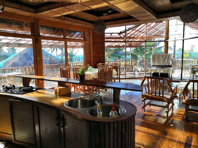 Wooden Villa by the Beach - Mindoro Island
