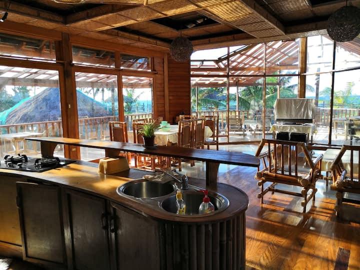 Wooden Villa by the Beach - Mindoro Island