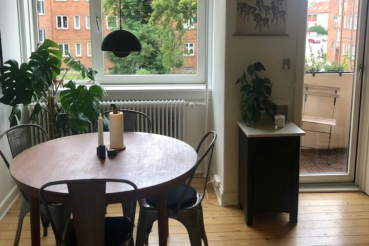 2-room apartment in the heart of Lyngby