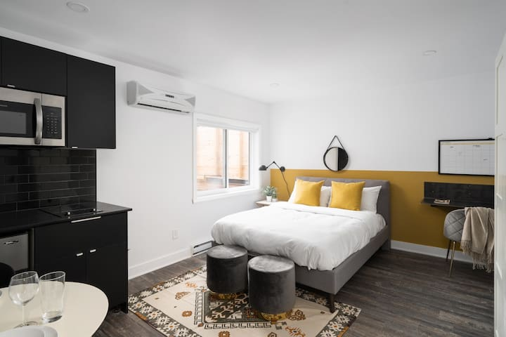 350 sq ft Studio on Saint-Denis Street