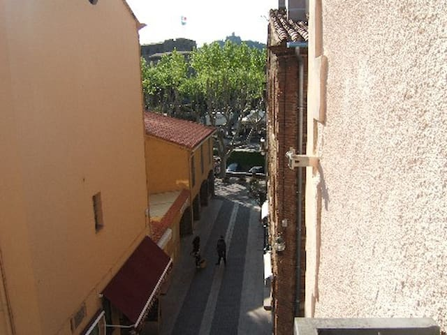 SPACIOUS 2 BEDROOM APARTMENT IN THE OLD PART OF CO - COLLIOURE - Apartment