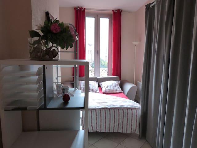 Chambre privée cosy chez l'habitant - Marseille - Lejlighed
