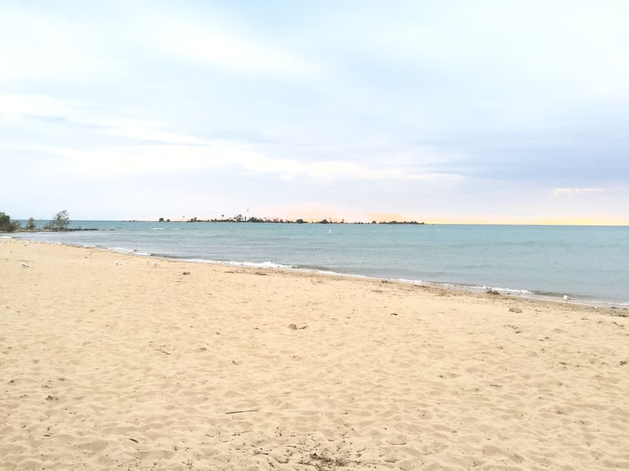 Southampton Beach is 200 metres from the house