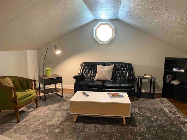 Studio style loft space in multi unit property