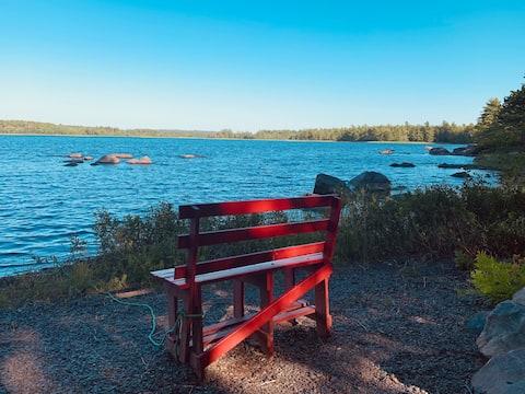 Lake Front Paradise on Ponhook in Nova Scotia