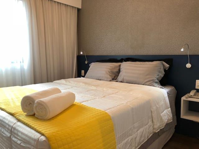 Apartamento confortável - Itaim Bibi