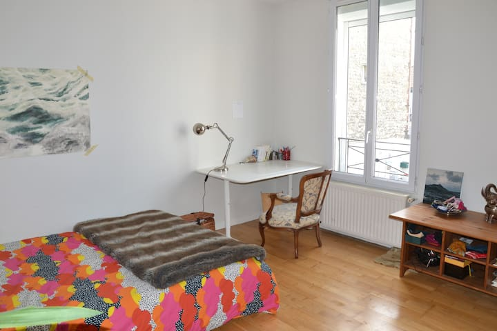 chambre privée cosy dans colocation jeunes actifs - Alfortville - Huis