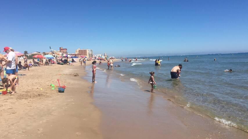 Mar en calma El Perellonet