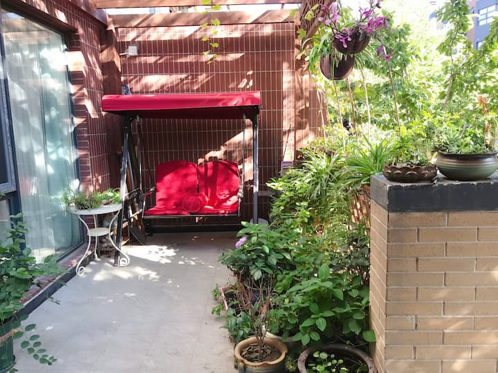 东坝三里屯望京798独立次卧室,下跃花园洋房,新装修干净整洁