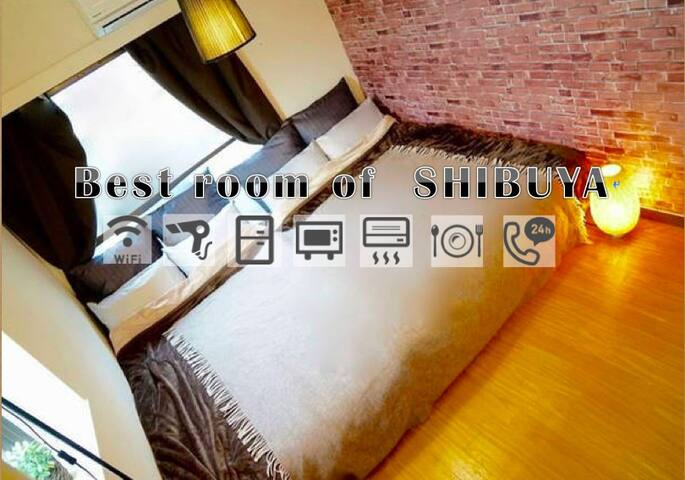 ★SALE★MAX4ppl★Shibuya5min★FullPrivate★WIFI★Luxury★ - Shibuya - Appartement