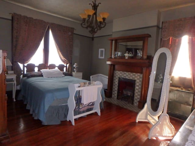 2nd Floor Bedroom 1 in a Beautiful Victorian House