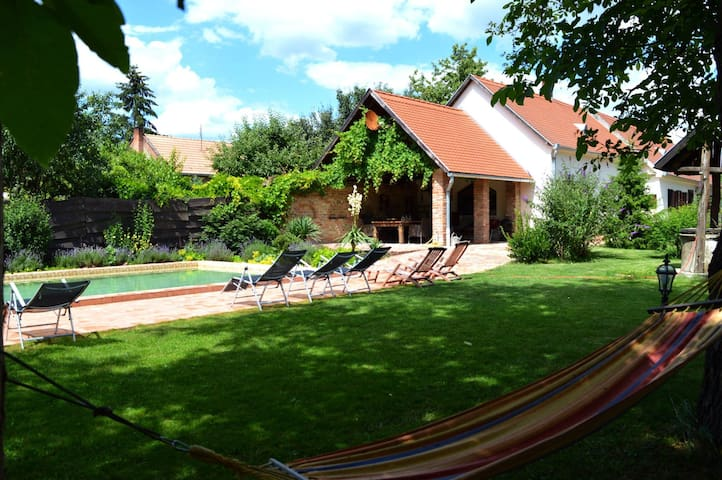 Dreamhouse Hungary with pool