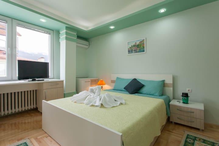 Villa Metulevi - green room