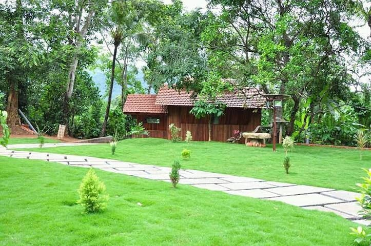 Wayanad-Thirunelly Wild Orchid Cottages with Meals