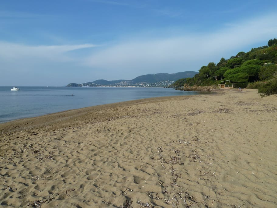 plage la plus proche de la location.